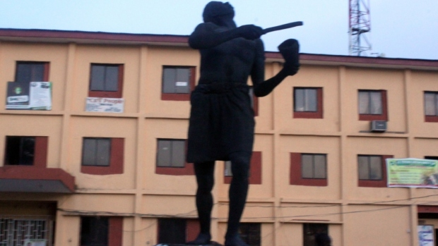 Journalism Statue in Edo state press centre